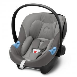 Cybex - 520000349 - Siège-auto bébé ATON M I-SIZE Soho Grey - mid grey (419524)