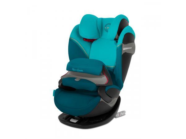 Siège-auto junior pallas s-fix river blue - turquoise