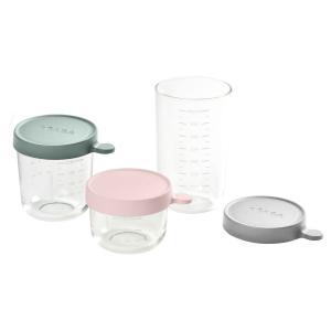 Beaba - 912803 - Coffret 3 portions repas verre Babycook (419778)