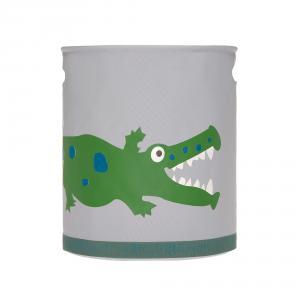 Lassig - 1541005526 - Panier à jouets Croco vert (419818)