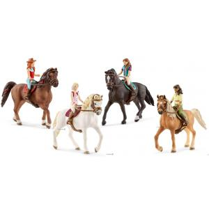Schleich - bu091 - Figurines Horse Club Sarah, Lisa, Sofia, Sarah (419826)