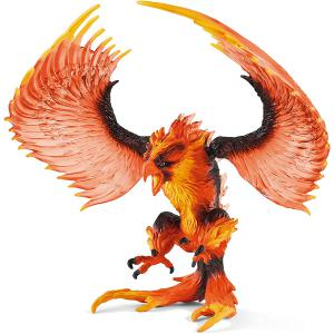Schleich - 42511 - Figurine L'aigle de feu - Dimension : 16,5 cm x 13 cm x 12,5 cm (420016)