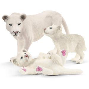 Schleich - 42505 - Figurine Lionne avec bébés - Dimension : 13,6 cm x 5,8 cm x 19,2 cm (420026)