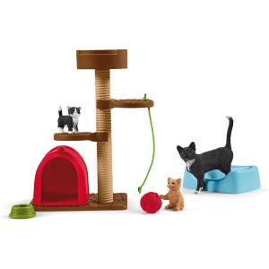 Schleich - 42501 - Divertissement pour chats mignons (420034)