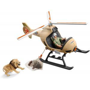 Schleich - 42476 - Hélicoptère pour sauvetage d'animaux (420040)