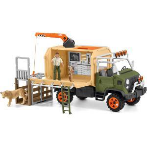 Schleich - 42475 - Gros camion sauvetage d'animaux (420042)