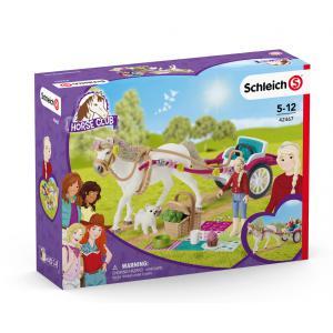 Schleich - 42467 - Calèche pour le spectacle équestre (420044)