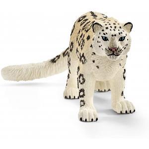 Schleich - 14838 - Figurine Léopard des neiges - Dimension : 10,5 cm x 4,9 cm x 4,3 cm (420090)