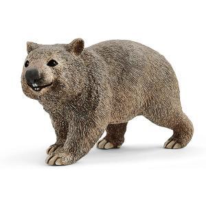 Schleich - 14834 - Figurine Wombat - Dimension : 7,5 cm x 2,7 cm x 4,3 cm (420098)