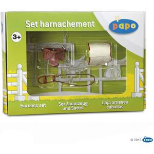 Papo - 50091 - Coffret harnachement - Dim. 23 cm x 17 cm x 6 cm (4291)