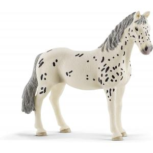 Schleich - 13910 - Figurine Jument Knabstrupper - Dimension : 12,3 cm x 3,6 cm x 11 cm (420120)