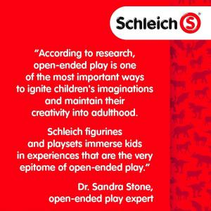 Schleich - 13907 - Figurine Étalon arabe  - Dimension : 13 cm x 4,5 cm x 10,4 cm (420126)