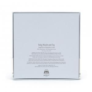 Jellycat - BTE2SET - Bedtime Elephant Gift Set - 18 cm (420208)