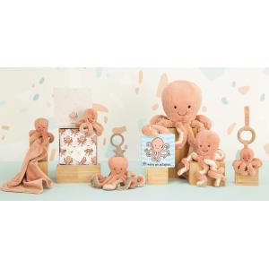 Jellycat - OD4S - Odell Octopus Soother - 34 cm (420212)