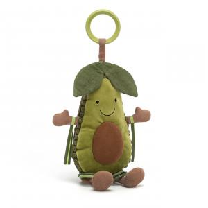 Jellycat - AAT2A - Amuseable Avocado Activity Toy - 25 cm (420228)