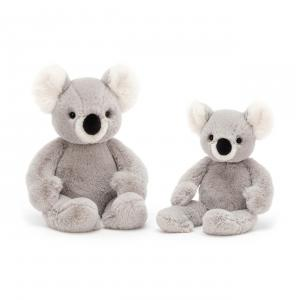 Jellycat - BEN6K - Peluche koala Benji - L = 6 cm x l = 9 cm x H =24 cm (420274)