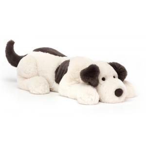 Jellycat - DASH1DG - Peluche chien Dashing - Mediu - L = 14 cm x l = 46 cm x H =12 cm (420300)