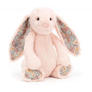 Jellycat - BL3BLU - Peluche lapin Blossom Blush - Mediu - L = 9 cm x l = 12 cm x H =31 cm (420396)