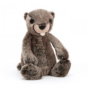 Jellycat - BAS3MAR - Peluche marmotte Bashful - L = 9 cm x l = 12 cm x H =31 cm (420404)