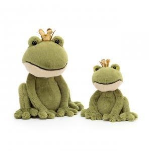 Jellycat - FEL2M - Felipe Frog Prince Medium - 21  cm (420442)