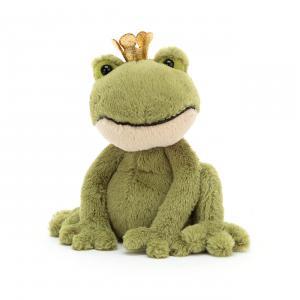 Jellycat - FEL6S - Felipe Frog Prince Small - 15 cm (420444)