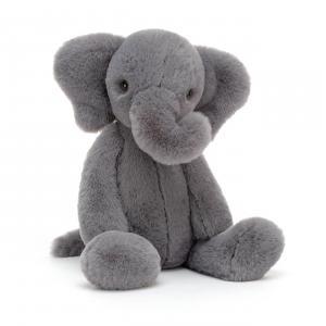 Jellycat - WUM3E - Peluche éléphant Wumper - L = 9 cm x l = 9 cm x H =31 cm (420472)
