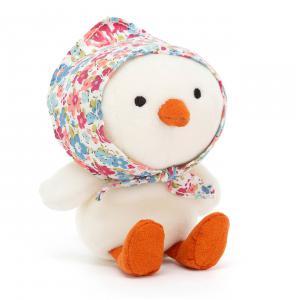 Jellycat - BET6CC - Betty Bonnet Cream Chick - 11 cm (420494)
