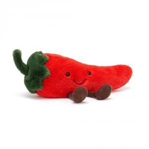 Jellycat - A6CHI - Amuseable Chilli Small - 21 cm (420536)