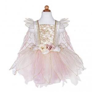 Great Pretenders - 32815 - Robe de fée rose pâle et or, taille EU 104-116 - 4-6 ans (420870)