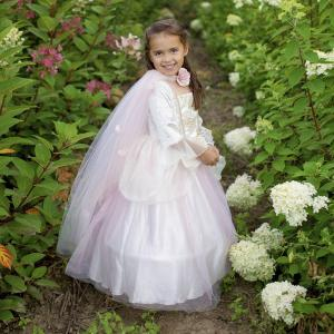 Great Pretenders - 52715 - Cape de princesse or et rose pâle, taille EU 104-116 - 4-6 ans (421152)