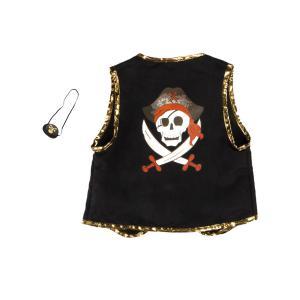 Great Pretenders - 66495 - Veste pirate et cache œil, taille EU 104-116 - 4-6 ans (421290)