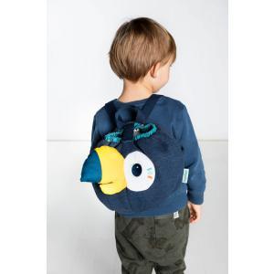 Doudou et compagnie - 84431 - Pablo soft sac à dos (421558)
