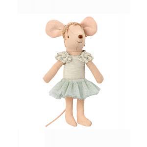 Maileg - 16-0603-00 - Dance mouse, Big sister - Swan lake - Taille 13 cm - à partir de 36 mois (421596)