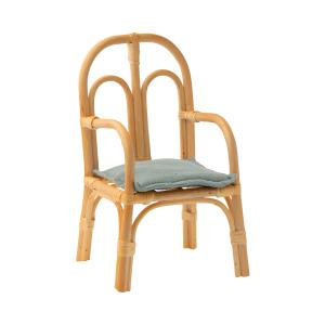 Maileg - 11-0005-01 - Chair rattan, Medium - Taille 24,5 cm - à partir de 36 mois (421626)