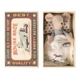 Maileg - 16-0723-01 - Souris Petit Frère dans sa boîte à allumettes -  10 cm (421764)