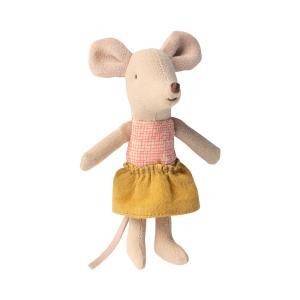 Maileg - 16-0722-01 - Souris Petite Sœur dans sa boîte à allumettes -  10 cm (421830)