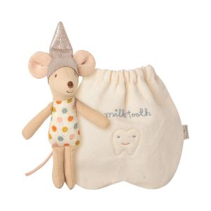 Maileg - 16-0720-00 - Tooth fairy mouse, Little - Taille 10 cm - de 0 à 36 mois (421842)