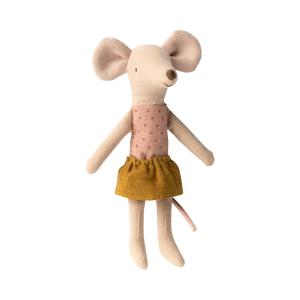 Maileg - 16-0732-01 - Big sister mouse in matchbox - Taille 13 cm - de 0 à 36 mois (421850)