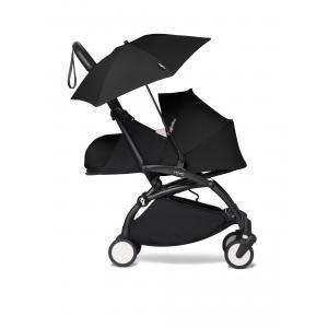 Babyzen - BU368 - Poussette YOYO2 compacte utilisable dès la naissance avec ombrelle noir 0+ (421864)