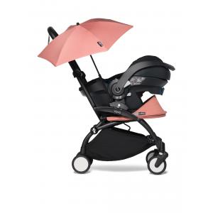Babyzen - BU348 - YOYO 2 babyzen poussette naissance ginger avec siège auto iZi Go Modular et ombrelle (cadre noir 0+) (421886)
