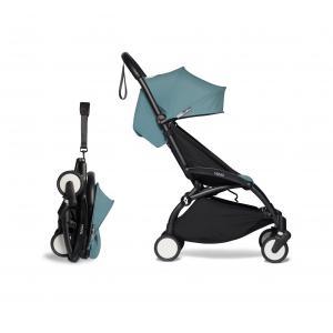 Babyzen - BU382 - Poussette pour cabine avion et ombrelle aqua noir 6+ (421944)