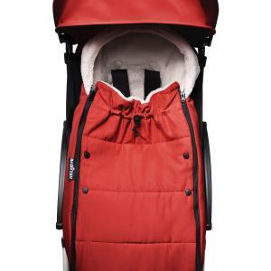 Babyzen - BU433 - Poussette compacte et maniable Babyzen YOYO2 et chancelière rouge blanc 0+ 6+ (422026)