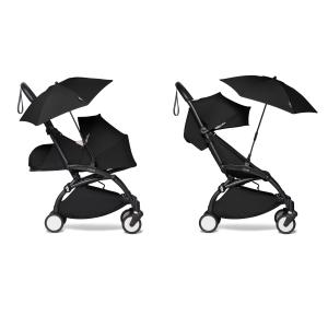 Babyzen - BU404 - Poussette compacte et ombrelle noir Babyzen YOYO2 noir 0+ 6+ (422084)