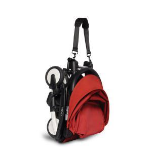 Berenguer - BU505 - Poussette maniable YOYO 2 Babyzen rouge et planche à roulettes blanc 0+ 6+ (422194)