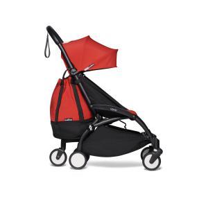 Berenguer - BU568 - Poussette pratique pour voyage Babyzen YOYO2 avec YOYO+ sac shopping rouge noir 0+ 2019 et 6+ (422320)