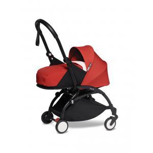 Babyzen - BU280 - Poussette YOYO2 naissance confortable rouge cadre noir 0+ 2019 (422428)