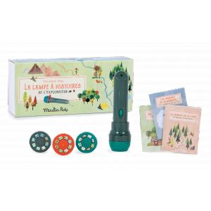 Moulin Roty - 712392 - Lampe à histoires de l'explorateur Le Jardin du Moulin (422560)