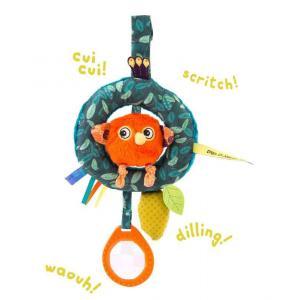 Moulin Roty - 668074 - Anneau d'activités poussin à suspendre Dans la jungle (422640)