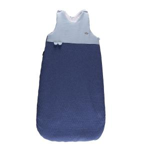 Candide - 115283 - Douillette réglable 80-100 cm chaude jersey matelassé/lange bleu (422890)