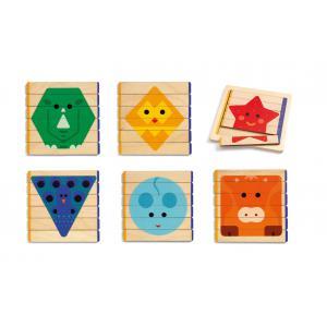 Djeco - DJ06211 - Basic - Puzzles Basic (422964)